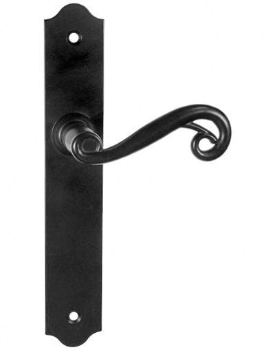 Oryginał Telimena - klamki z długim szyldem, czarny | Sklep internetowy NA26